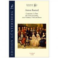 Raetzel, A.: Concerto A-Dur