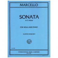 Marcello, B.: Violasonate e-Moll