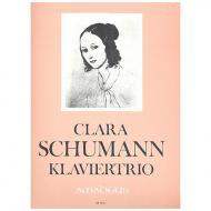 Schumann, C.: Klaviertrio g-moll Op.17
