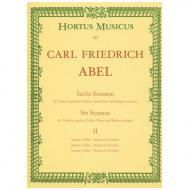 Abel, C. F.: 6 Violinsonaten Band 2