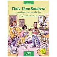 Blackwell, K. & D.: Viola Time Runners - Band 2 (+Online Audio)
