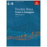 ABRSM: Double Bass Scales And Arpeggios – Grade 6-8 (From 2012)