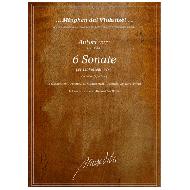 Autori vari (18. Jh.): 6 Sonate