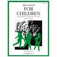 Bartók, B.: Für Kinder Band 2