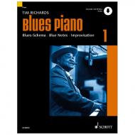Richards, T.: Blues Piano Band 1 (+Online Audio)