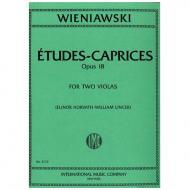 Wieniawski, H.: Etudes-Caprices op. 18