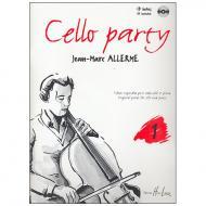 Allerme, J.-M.: Cello Party Band 1 (+CD)