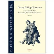 Telemann, G. Ph.: Triosonate G-Dur TWV 42:G7