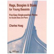 Hoag, Ch.: Rags, Boogies & Blues for Young Bassists