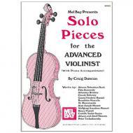 Duncan, C.: Solo Pieces for Advanced Violinists (+Online PDF)