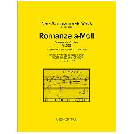 Schumann, C.: Romanze WoO28 a-Moll