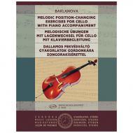 Baklanova, N.: Melodische Übungen mit Lagenwechsel