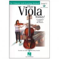 Play Viola Today! A Complete Guide to the Basics (+Online Audio)