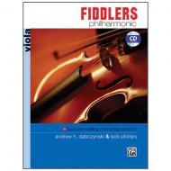 Dabczynski, A. H./Phillips, B.: Fiddlers Philharmonic – Viola (+CD)