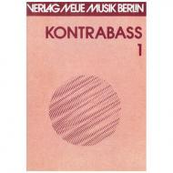 Kontrabass Band 1 - Vortragsstücke