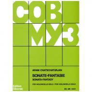 Chatschaturjan, A.: Sonate-Fantasie für Violoncello solo 1974