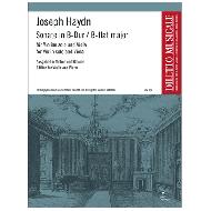 Haydn, J.: Sonate Nr. 3 B-Dur Hob. VI:3 für Violine und Viola