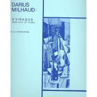 Milhaud, D.: 4 Visages Nr. 4: La Parisienne