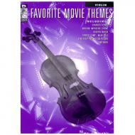 Favorite Movie Themes for Violin (+Online Audio )