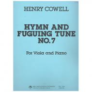 Cowell, H.D.: Hymn and Fuguing Tune Nr. 7