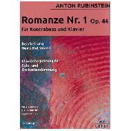 Rubinstein, A.: Romanze Nr. 1 Op. 44