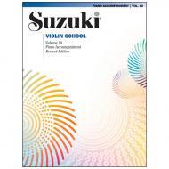 Suzuki Violin School Vol. 10 – Klavierbegleitung