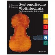 Zehetmair, H./Bergmann, B.: Systematische Violintechnik Band 5