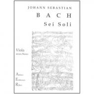Bach, J.S.: 6 Sonaten und Partiten BWV 1001-1006 – für Viola