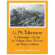 Telemann, G.Ph.: 8. Triosonate in F-dur TWV 42:F12