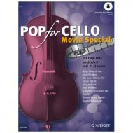 Pop for Cello - Movie Spezial (+ Online Audio)