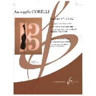 Corelli, A.: Sonates no.10 à 12 op.5 pour violon et basse continue