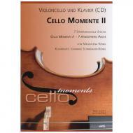 König, M.: Cello Momente II (+CD)