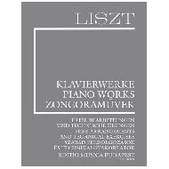 Liszt, F.: Freie Bearbeitungen und technische Übungen (Suppl.16)
