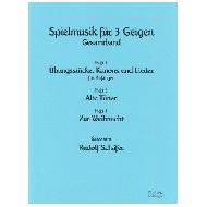 Schäfer, R.: Spielmusik für 3 Geigen Gesamtband