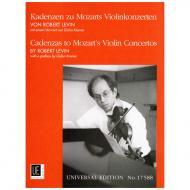 Kadenzen zu W. A. Mozarts Violinkonzerten von Robert D. Levin