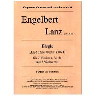 Lanz, E.: Elegie »Lied ohne Worte« für Streichquintett