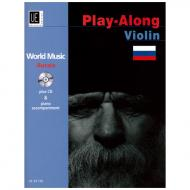 World Music Play Along Violin: Russia (+CD)