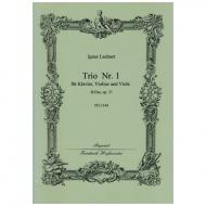 Lachner, I.: Trio Nr. 1 Op. 37 B-Dur