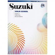 Suzuki Violin School Vol. 4 (+CD)