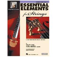 Allen, M.: Essential elements for strings – double bass Vol. 2 (+Online Audio und Video)
