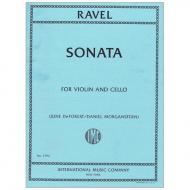 Ravel, M.: Sonate (1920/22)