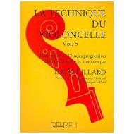 Feuillard, L.R.: La technique du violoncelliste Band 5