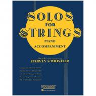 Solos For Strings – Piano part