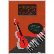 Weihnachtslieder für Violine (+Online Audio)