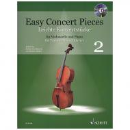Deserno, K. / Mohrs, R.: Easy Concert Pieces Band 2 (+CD)