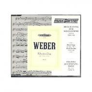 Weber, C. M. v.: Klaviertrio Op. 63 g-Moll Begleit-CD