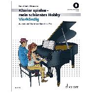 Heumann, H.: Vierhändig (+Online Audio)