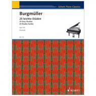 Burgmüller, F.: 25 leichte Etüden Op. 100