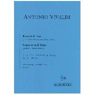 Vivaldi, A.: Violinkonzert E-Dur Op. 8 Nr. 1 (RV 269) – Der Frühling