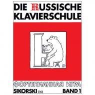 Nikolajew, A.: Die Russische Klavierschule Band 1